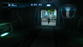 Deleter running into H-shaped corridor Navigation Booth