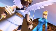 Kid Icarus - SSBB E3 2006 - ZSS vs Pit