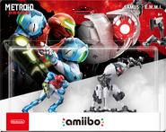 Samus & E.M.M.I. Amiibo