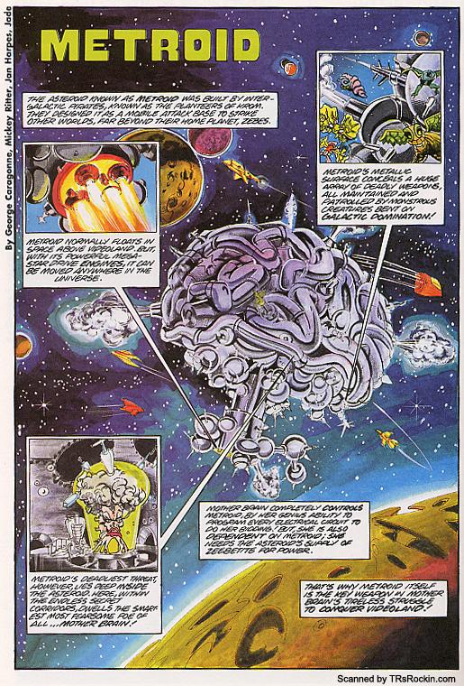 Metroid (asteroid)
