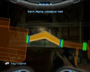 Deck Alpha Umbilical Hall Map