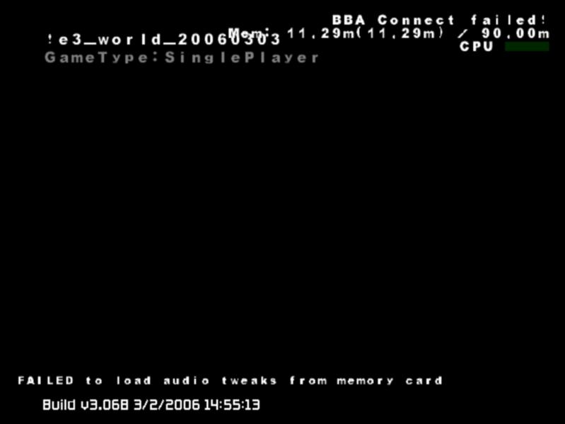 Metroid Prime 3: Corruption (prototipo del 2006)