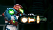 Metroid Dread Arm Cannon
