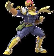 SSB Ultimate Captain Falcon render