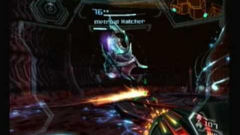 Metroid Prime 3 Corruption Metroid Hatcher
