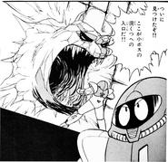 Manga Kraid Entrance Statue