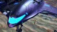 Samus's Gunship Landing on ZDR 2 MDR