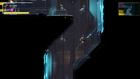 Samus climbing Blue Wall with Grapple Beam MD