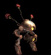 Robot de Defensa modelo MP3