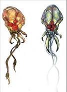 Hunter Metroid Concept Art MP1