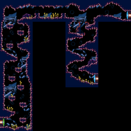 Rocky cave full view - Metroid Zero Mission