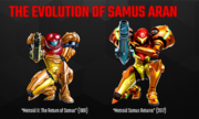 The Evolution of Samus Aran (Nintendo AU site).png
