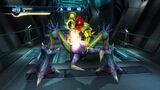 Samus using Overblast against Sidehopper MOM