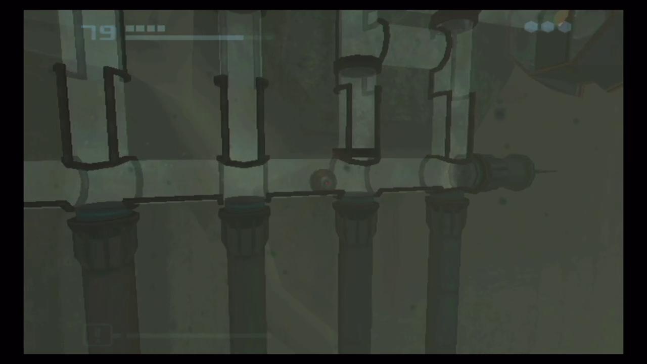 水底神殿東トンネル