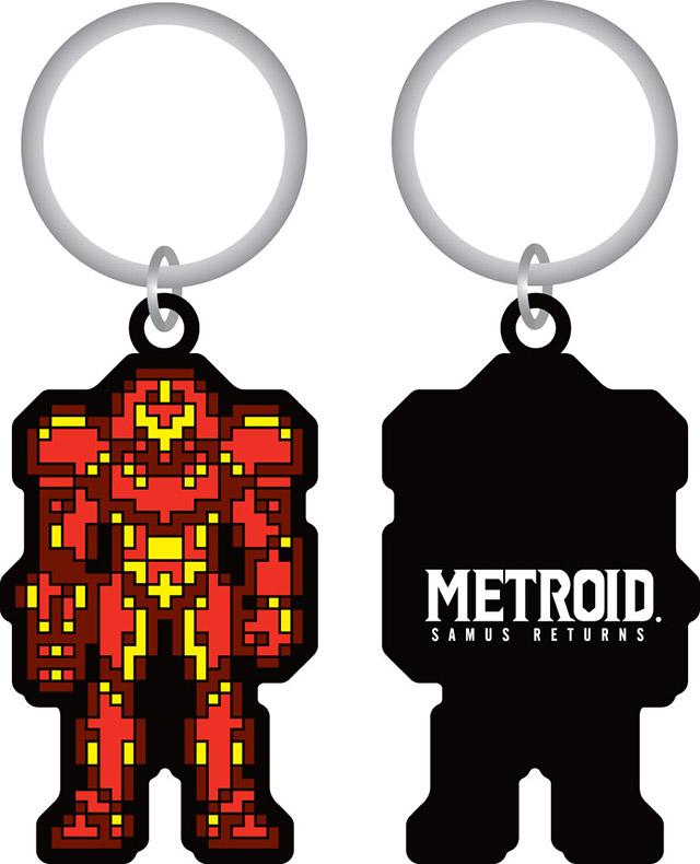 """8-bit"" Metroid Key Chain"