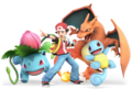 SSB Ultimate Pokemon Trainer render