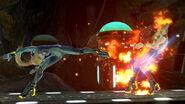 ZSSamus Side Smash Attack SSBU