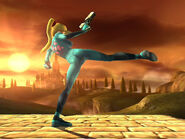 Zero Suit Samus Strong Side Attack SSBB