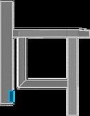 Karte Nebenbelüftungsschacht Abschnitt B