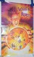 Nintendo-METROID-ll-RETURN-SAMUS-Poster-Kelloggs-Mini