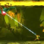 Shooting Grapple Beam at Zeta Metroid MSR.png