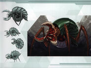 MSR Artbook Gamma Metroid