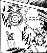 Geega manga attaque vrille
