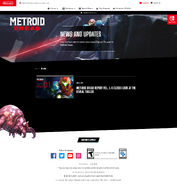 Metroid Dread Report front page