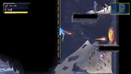 Metroid Dread sliding platform