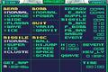 Metroid Fusion Debug Menu