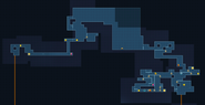 Metroid Samus Returns Area 1 map