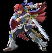 SSB Ultimate Roy render