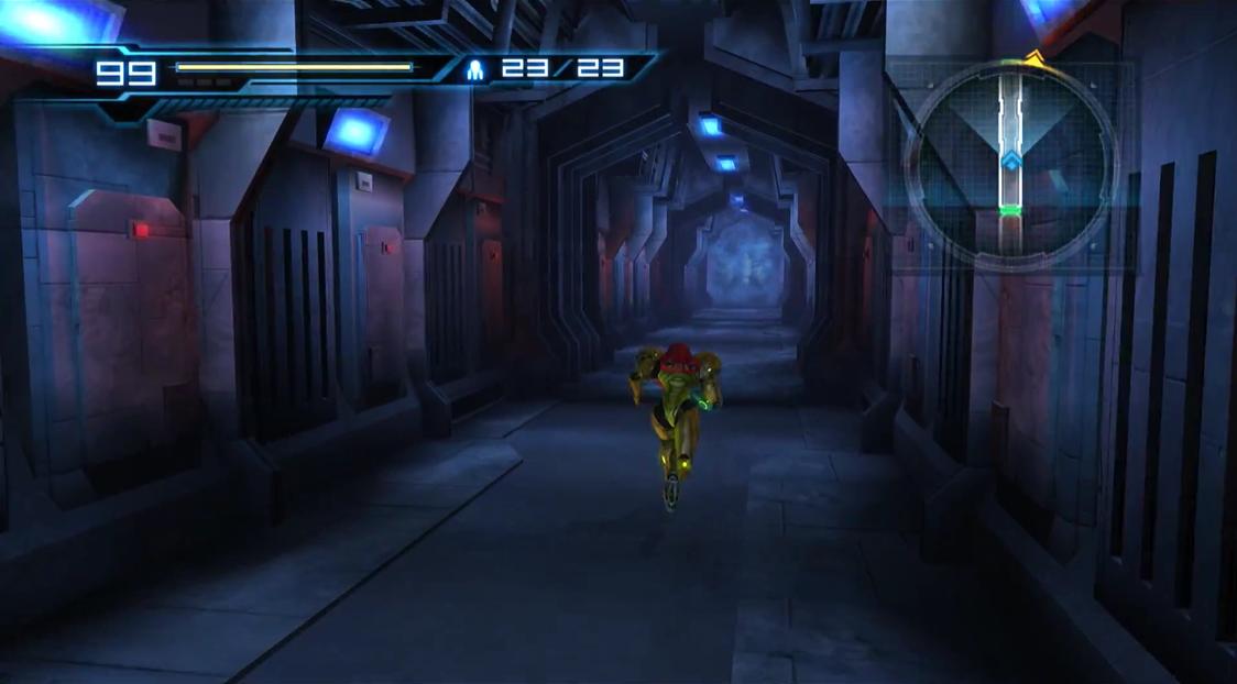 Speed Booster corridor