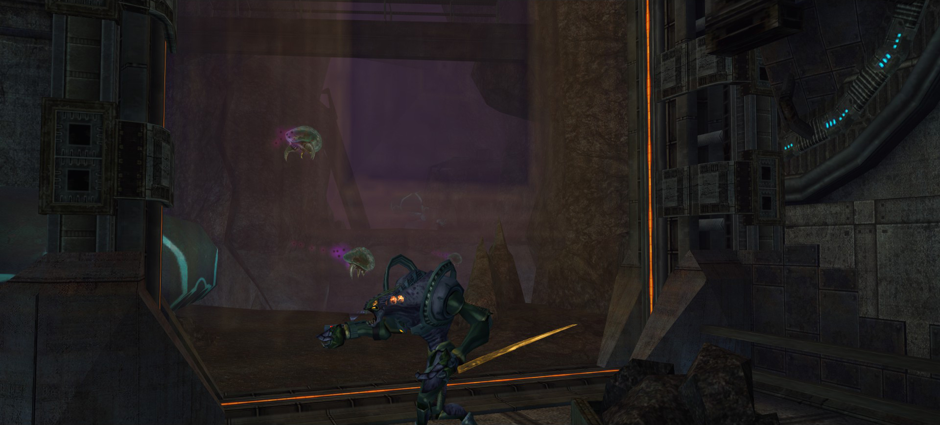 Metroid Holding Area