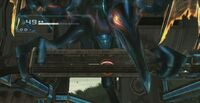 Meta Ridley atacando a Samus en morfosfera.jpg