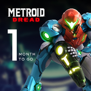 Metroid Dread 1 month to go