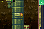 Statuary shaft climbing back up