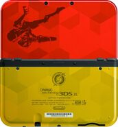 New Nintendo 3DS XL edición Samus Returns caras
