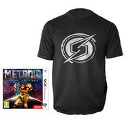 Metroid Samus Returns UK preorder shirt