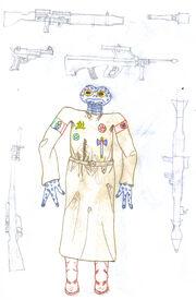 Armero XX artwork fan fic Oro de la Galaxia.jpg