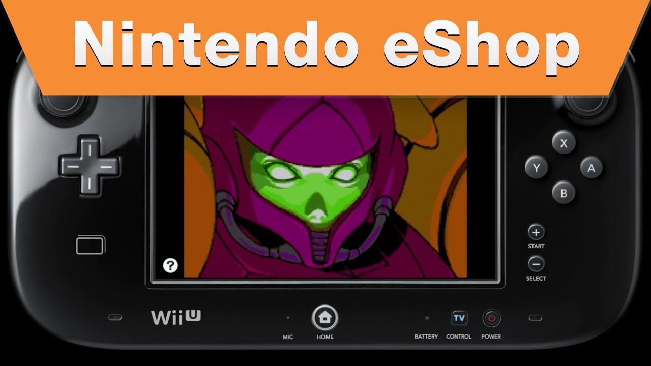 Nintendo eShop - Metroid Fusion on the Wii U Virtual Console