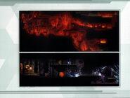 MSR Artbook lava and mining cavern