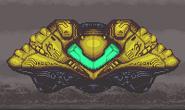 Samus's Gunship Super Metroid