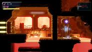 Metroid Dread superheated room