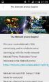 The Metroid promo begins! description page 1