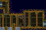 Giant root's arena full view