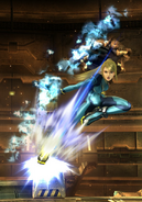 Zero Suit Samus Flip Jump Kick SSBWU