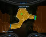 Canyon Cavern Map