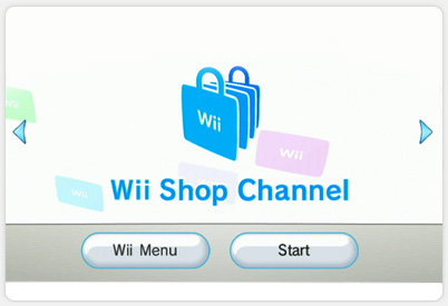 Wii Shop Channel