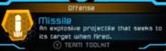 Missile MPFF